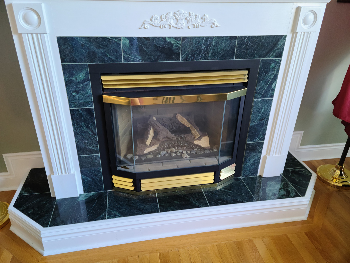 Before Photo of Fireplace