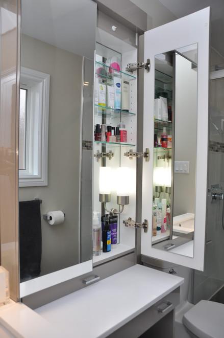 New Bathroom Vanity & Makeup Area