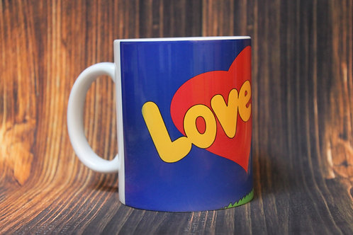 Кружка Love is Мечтать вместе #2