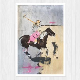 """""""Peach Cloud Stella"""" - 30 cm x 46 cm"""