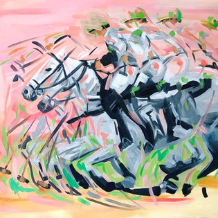 """""""St. Patrick"""" - 30 x 40 inches"""