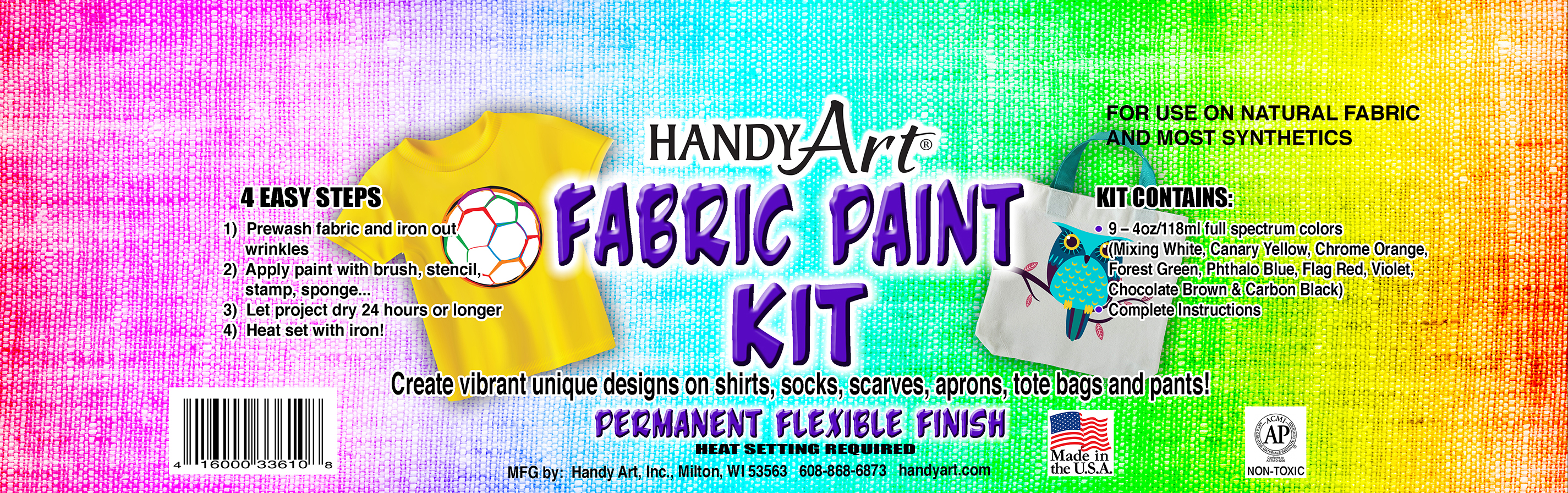 Handy Art - Fabric Paint Kit