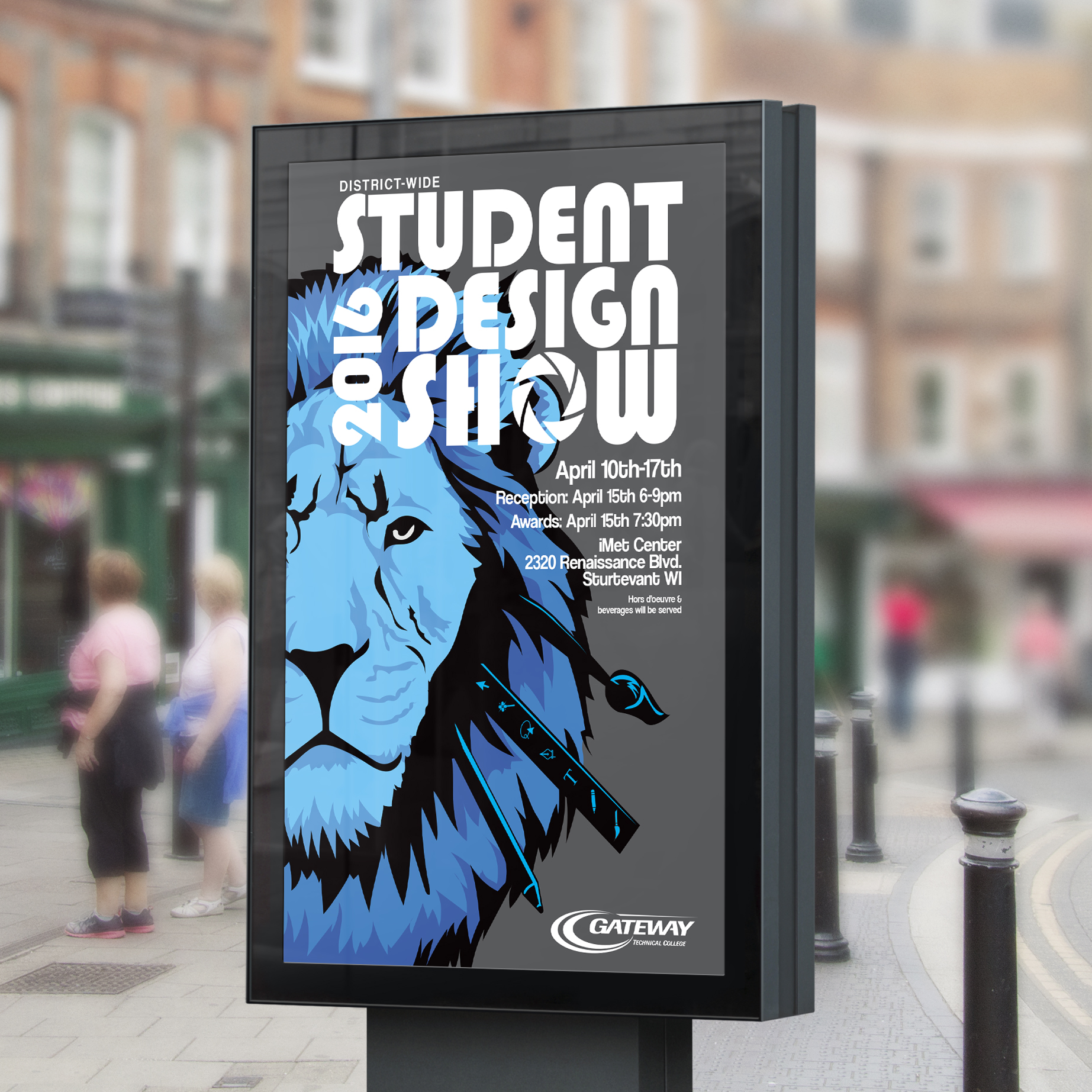 Student Design Show - Poster