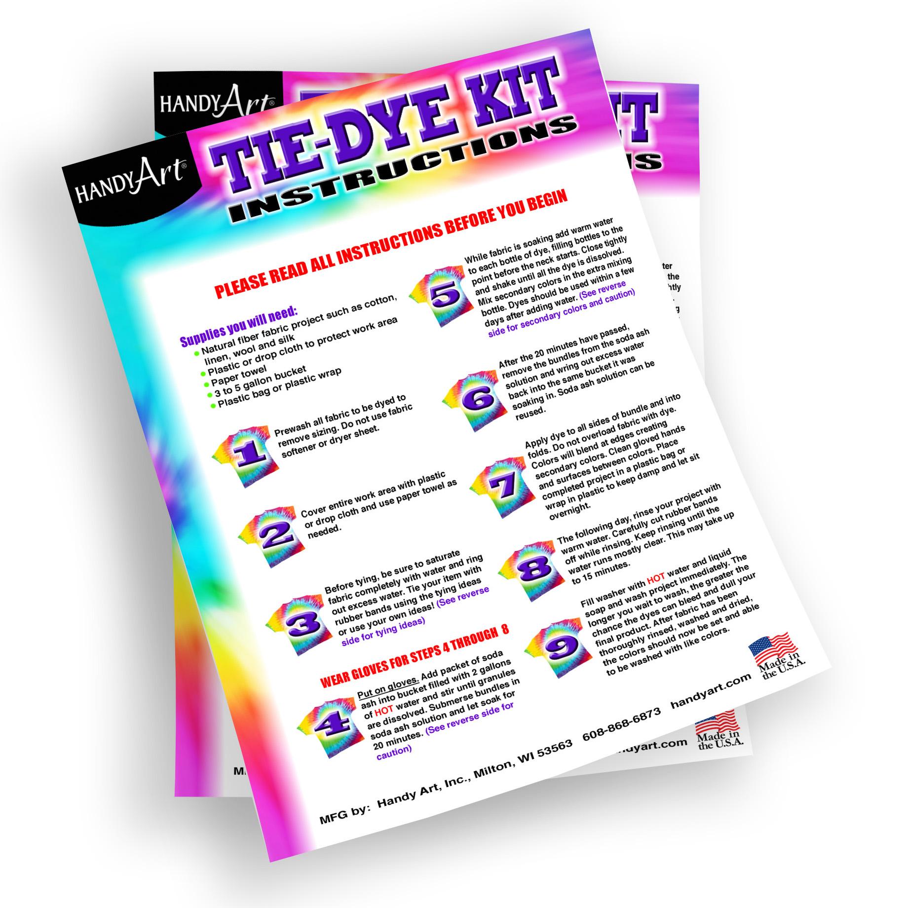 Handy Art - Tie-Dye Kit