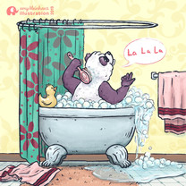 Panda Bath