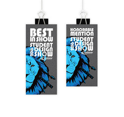 Student Design Show - Award Tags