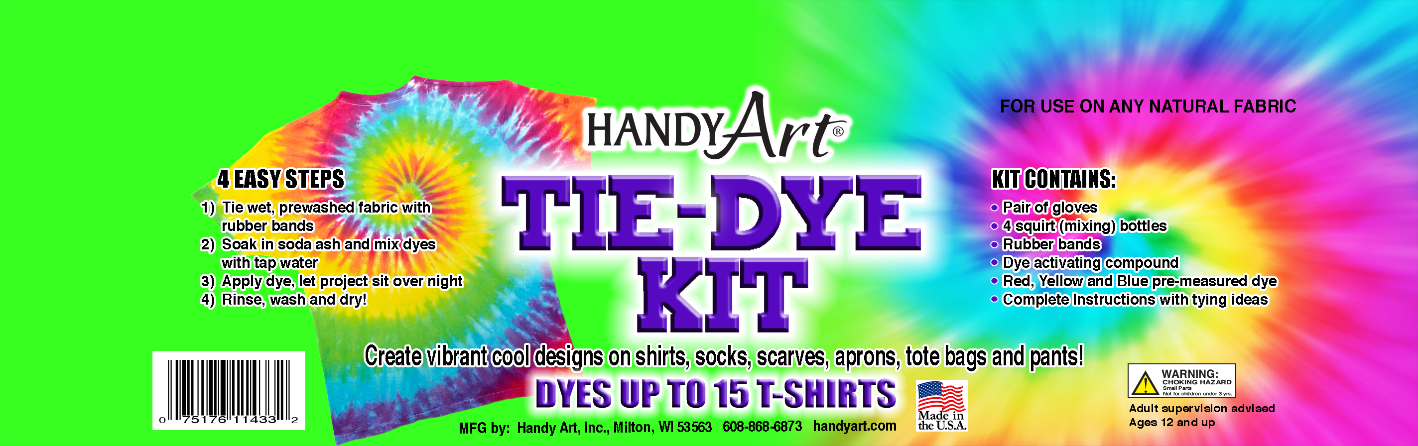 Handy Art - Tie-Dye Kit