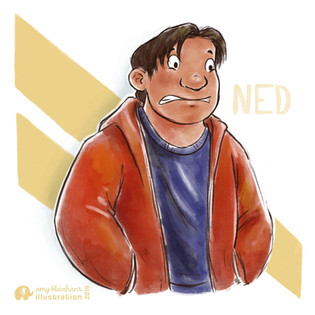 NED from Spiderman: Homecoming