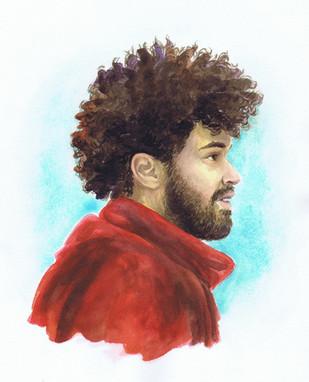 Guy - Watercolor Study
