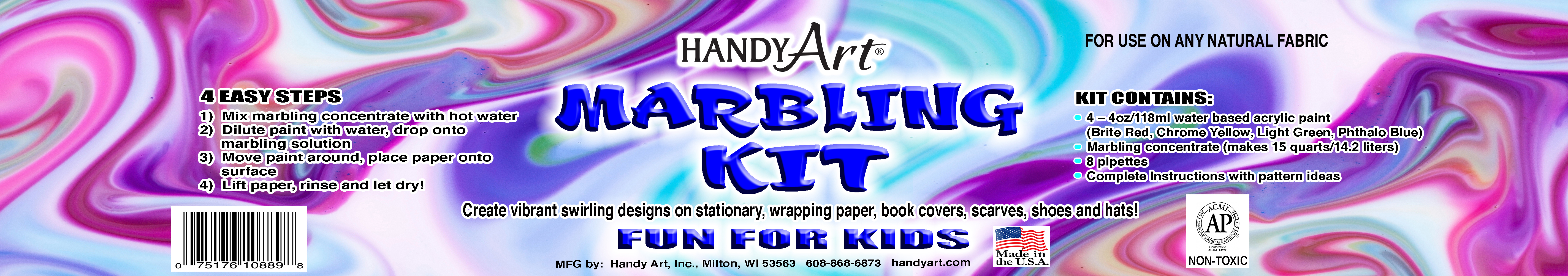 Handy Art - Marbling Kit