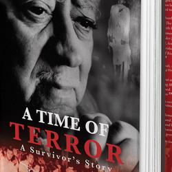 A Time of Terror - Book cover design