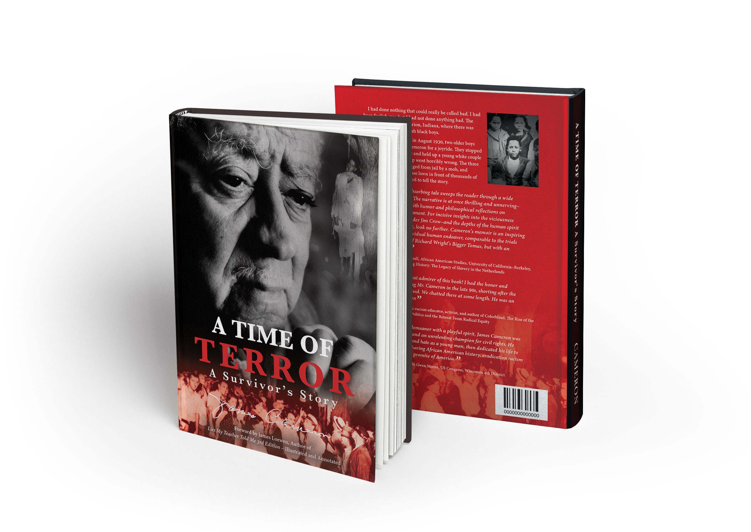 A Time of Terror - Book cover design