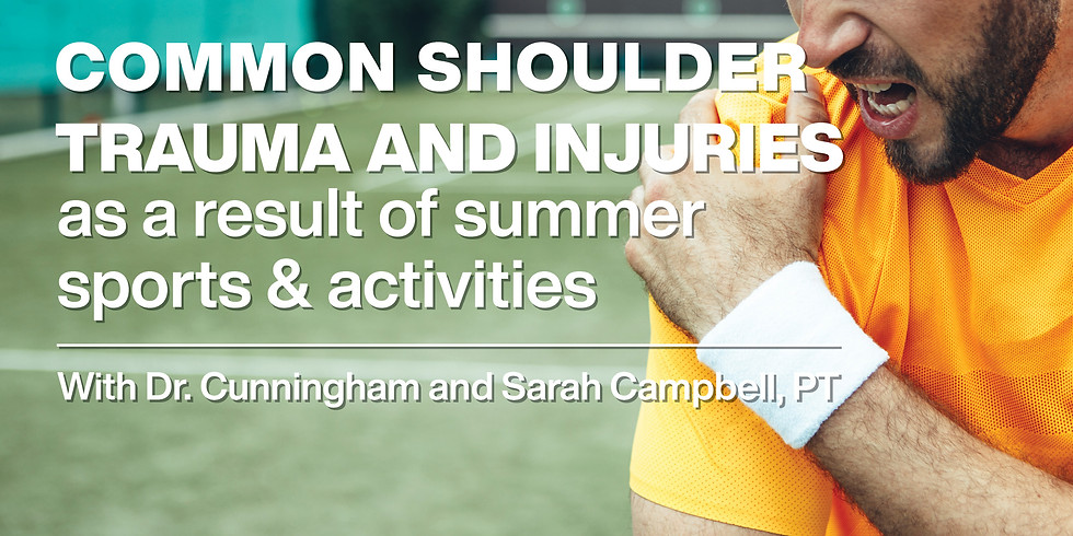Common Shoulder Trauma & Injuries as a Result of Summer Sports & Activities