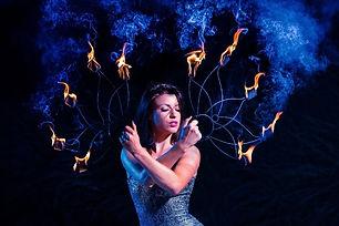 danseuse feu paris