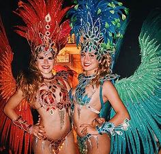 Retrouver le tarif d'un spectacle de danseuses brésilienne à Paris