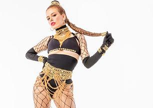 Danseuse Hip-hop danse sur beyoncé pour clip musical