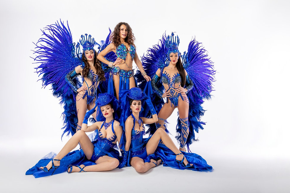 Troupe de danseuses à Paris pour spectacles animations et shows