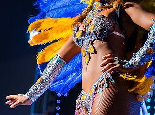 Le tarif des Danseuses brésilienne pour un spectacle samba à Paris