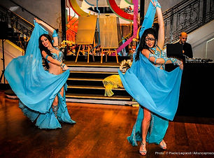 les danseuses orientales pour animation de Bar-mitzvah