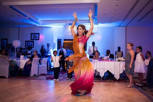 danseuse paris show mariage  anniversaire animation evg comité d'entreprise barmitsva clubbing bollywood indienne inde danse