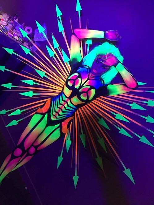 Danseuse Body Painting