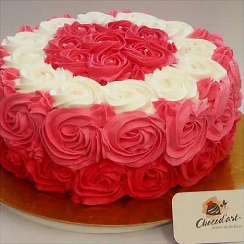 Chocodart bolos decorados casamentos batizados aniversrios bolo decorado de rosas thecheapjerseys Images