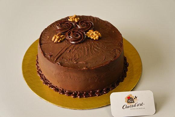 Torta de Chocolate e Nozes Diet
