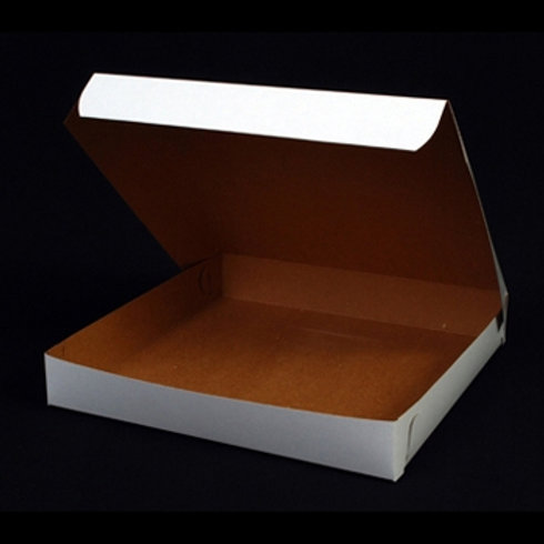 D00509- White Medium Pizza Box