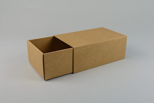 D00710 - Unprinted Base & Sleeve Box - 205x38x32mm