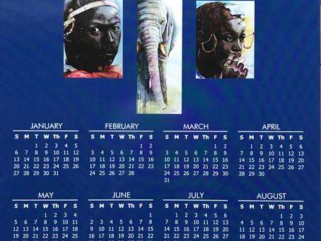 Only FOUR (4) 2019 Calendars Left