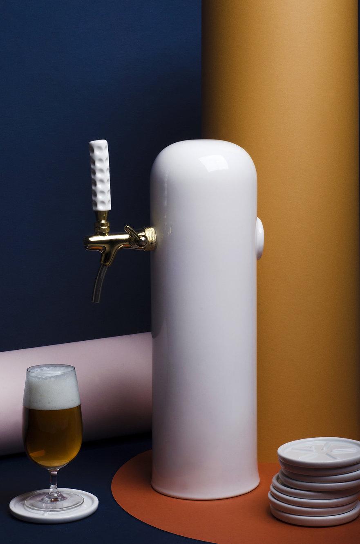 draft beer tower