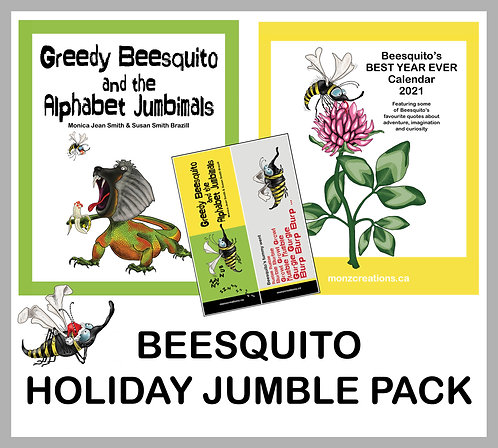 Beesquito Holiday Jumble Pack
