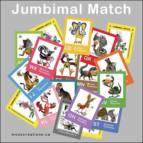 Jumbimal Match Game