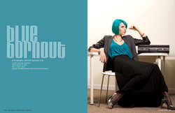 Blue Burnout Page 1