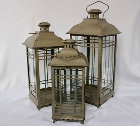Grey Antique Lanterns