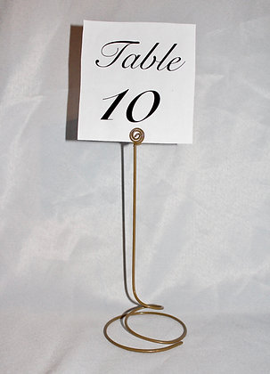 Table Number/Photo Holder
