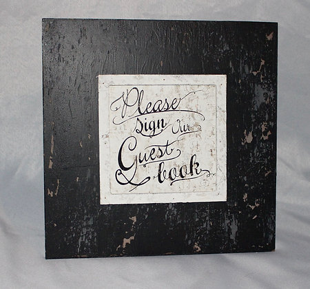 Guest Book Sign