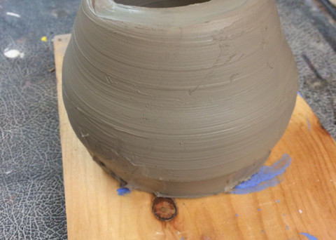 first pottery class