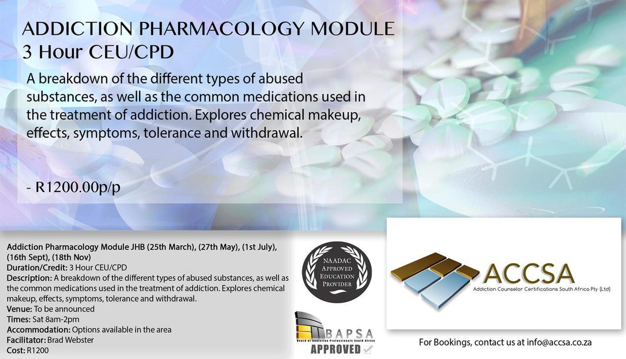Addiction Pharmacology JHB
