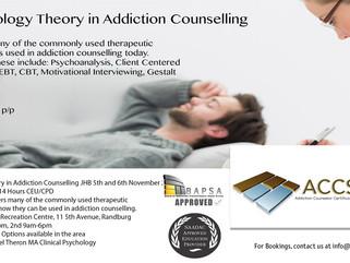 Upcoming Addiction Courses and Dates October/November - ACCSA
