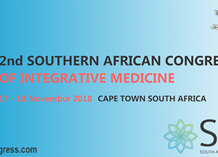 2nd South African Congress of Integrative Medicine in Cape Town - Nov 17th & 18th