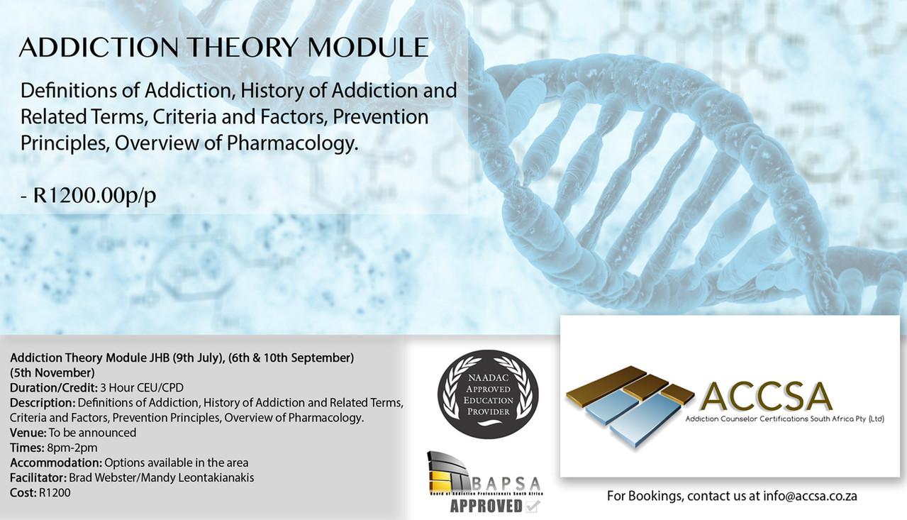 Addiction Theory JHB