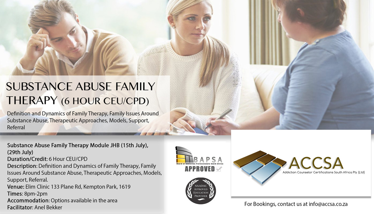 Family Therapy JHB