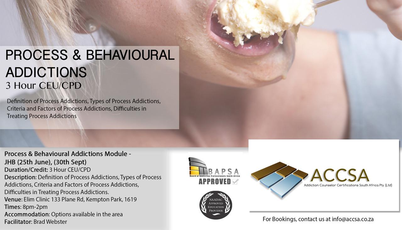 Process and Behavioural Addictions JHB