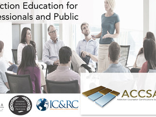Addiction Education Courses & Certifications - Bookings Open for 2020