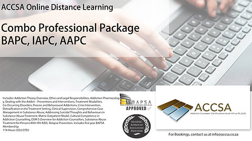 Addiction Professional Combo Package - 114 Hours CEU/CPD