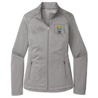 Port Authority ® Ladies Diamond Heather Fleece Full-Zip Jacket