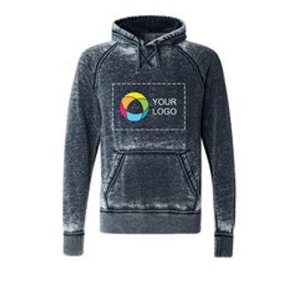 J. America Vintage Zen Fleece Hooded Pullover Sweatshirt