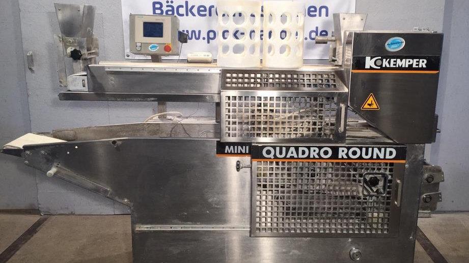 Kemper Teigteil- und Wirkmaschine Mini Quadro Round / MQR 3-reihig