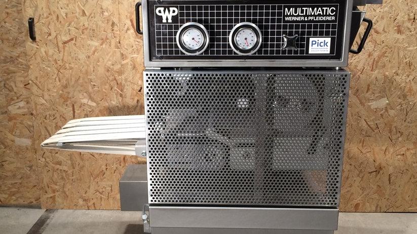 WP Multimatic head machine type MUC 5-row